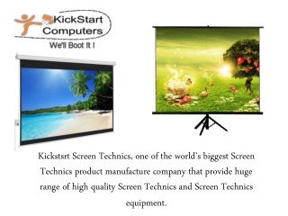 Projection Screen - Improve Design Applied For Displaying
