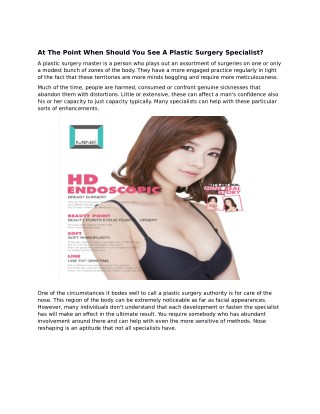 Looking for South Korea Plastic Surgery