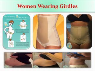 Women Wearing Girdles