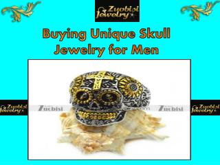 Buying Unique Skull Jewelry for Men