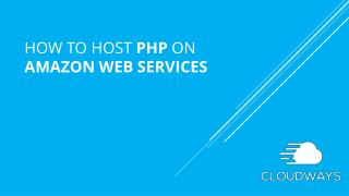 Hosting PHP Apps on Amazon EC2