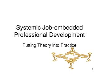 Systemic Job-embedded Professional Development