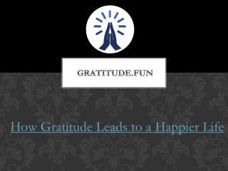 Happier Life by Gratitude.fun App