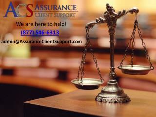 Assurance Client Support