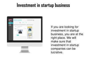 Find investment online