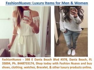 FashionNuevo 398 E Dania Beach Blvd #378 Dania Beach FL 33004, Ph. 8448733174
