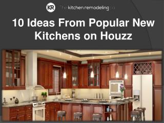 10 Ideas From Popular New Kitchens on Houzz