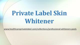 Safe Skin Whitening Product