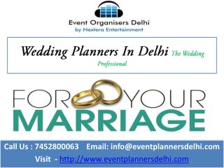 Event Organisers in Delhi