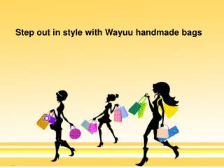 Step out in style with Wayuu handmade bags