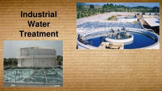 What is Industrial wastewater treatment