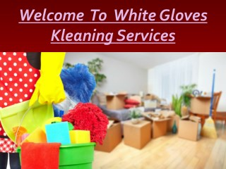 Hire Professional Move in and Move out Cleaning Services