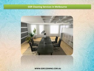 GSR Cleaning Services in Melbourne, Victoria, Australia