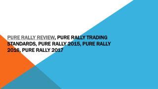 Pure Rally UK, Pure Rally Review, Pure Rally 2016