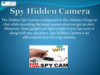 Spy Camera in Delhi India l Wireless Hidden Camera