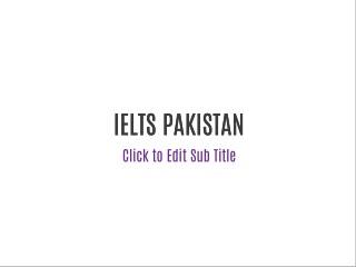 IELTS in Pakistan | Best IELTS Trainer In Pakistan