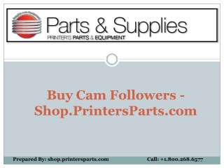 Buy Cam Followers - Shop.PrintersParts.com