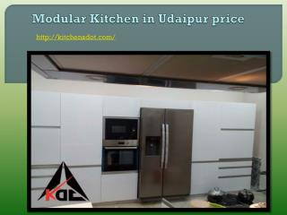 Modular Kitchen in Udaipur price