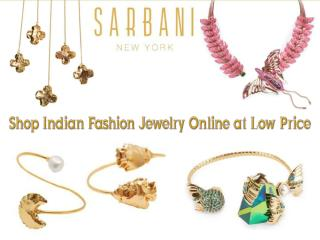 Shop Indian Fashion Jewelry Online at Low Price