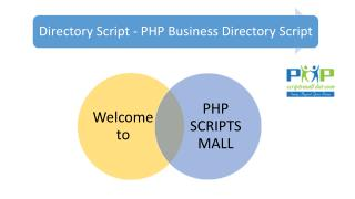 Directory Script - PHP Business Directory Script