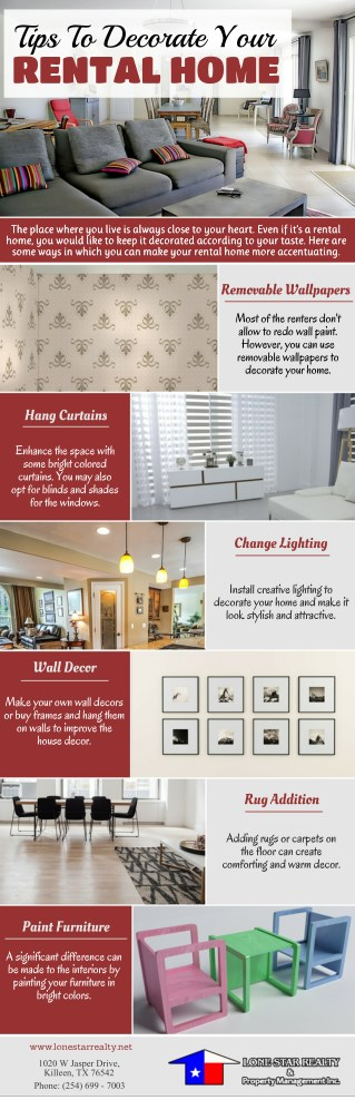 Tips To Decorate Your Rental Home