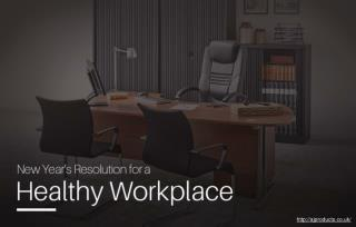 What Are Some Ways in Which You Can Make Your Workplace Healthier?