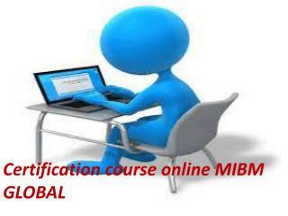 Multiple certifications are available for Certification course online