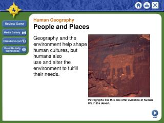 Human Geography People and Places