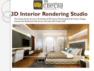 3D Interior Rendering Studio