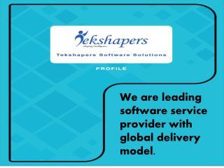 IT Solutions Provider Company-Tekshapers