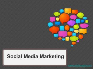 PPT on Social Media Marketing