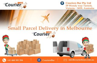 Small Parcel Delivery in Melbourne