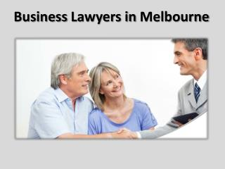 Business Lawyer Melbourne