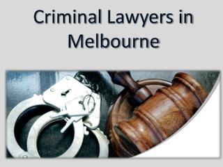 Criminal Lawyer Melbourne