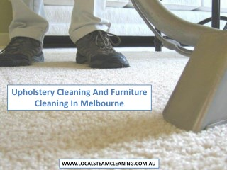 Upholstery Cleaning And Furniture Cleaning In Melbourne