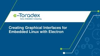 Creating Graphical Interfaces for Embedded Linux with Electron