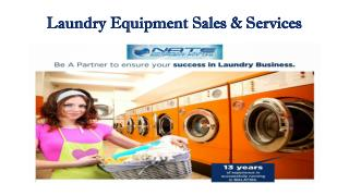 LG Commercial Laundry Equipment and Speed Queen Commercial range in India