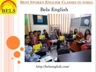 Best Spoken English Classes in Noida