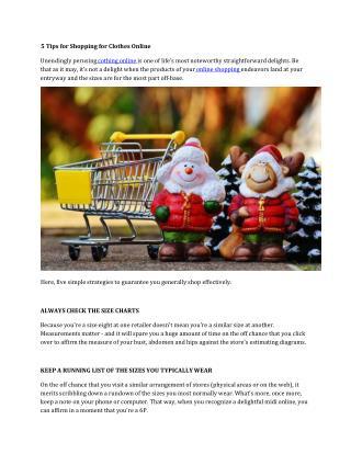 Buy Online Clothing India