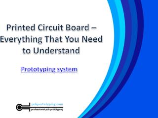 Printed circuit board – everything that you need