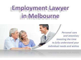 Employment Lawyer Melbourne