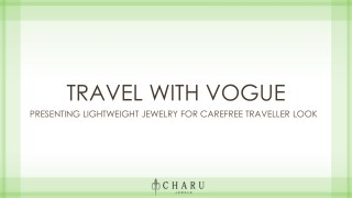 Travel with Vogue