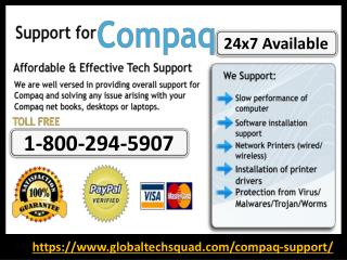how to update Compaq drivers | Dial 1-800-294-5907