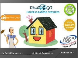 Professional Domestic Cleaning Sydney