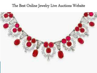 The Best Online Jewelry Live Auctions Website