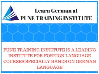 German Language Classes - Courses in Pune,  Pune Training Institute