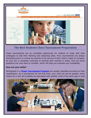 Join the Best Students Chess Coaching Hong Kong.