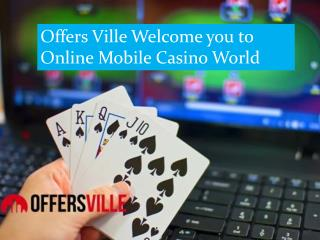 Get New Online Slots Of Casinos Game | Offersville