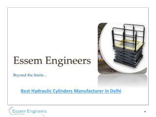 Best Hydraulic Cylinders Manufacturer in Delhi