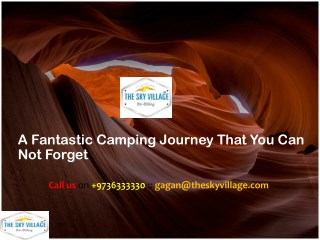 A Fantastic Camping Journey That You Can Not Forget